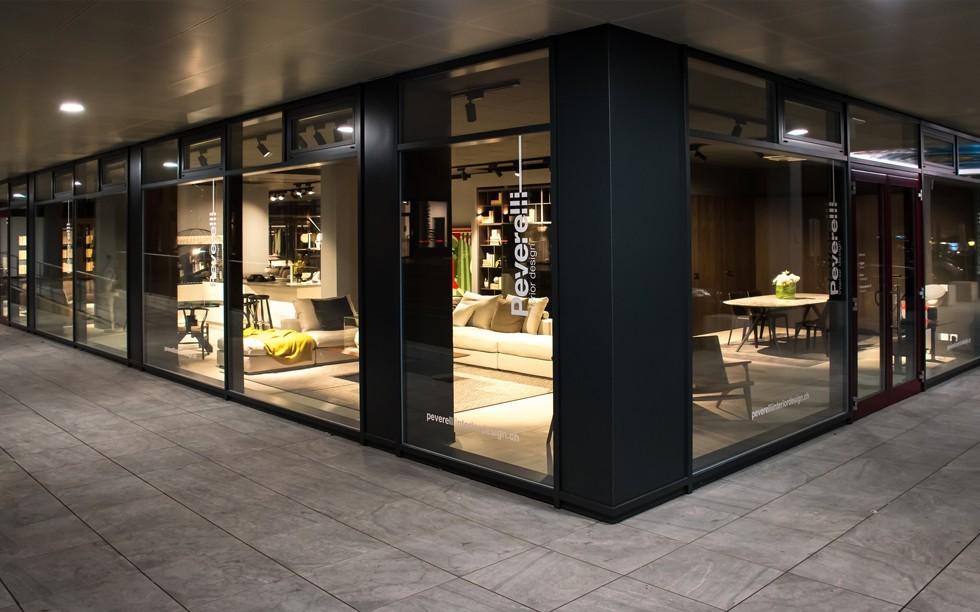 Showroom for Peverelli arredamenti